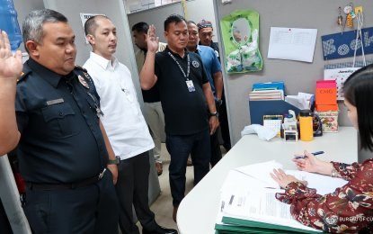 Two separate cases were filed on Wednesday against G-Joyce Enterprises and Zainar General Merchandise, for the violation of Section 1400 in relation to Section 1401 of the Customs Modernization and Tariff Act, Republic Act 4653 and Section 172 of the Revised Penal Code. (Photo courtesy: BOC-PIO)