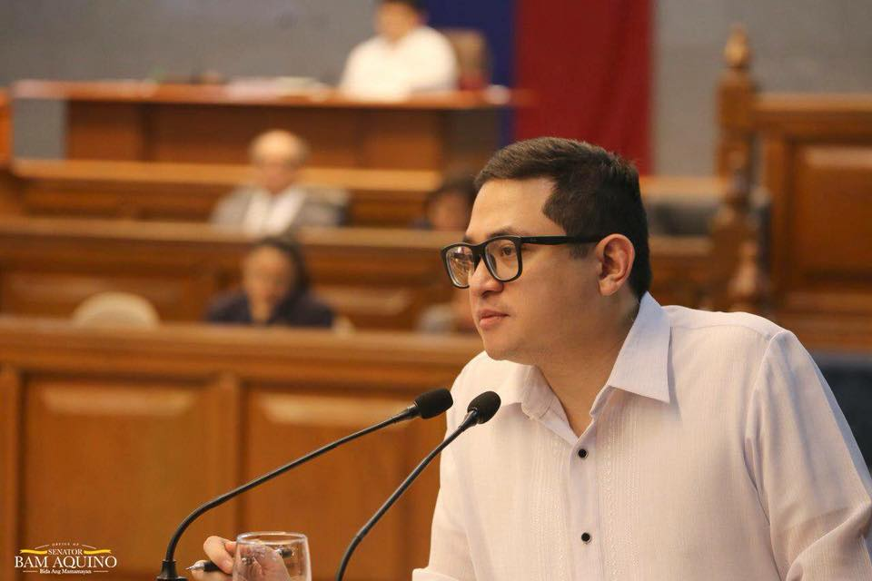 In a statement, Aquino stressed the need to toughen the fight against fake news and ramp up efforts to provide quality education to keep Filipinos, especially the youth, fully aware of the issues swarming the country. (Photo:  Bam Aquino/Facebook)