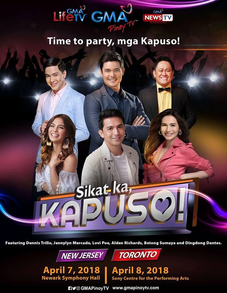 GMA KAPUSO STARS IN TORONTO! (Facebook photo)