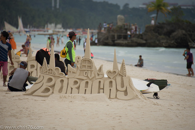 FILE: Island of Boracay (Photo by Chris Parker/Flickr, CC BY-SA 2.0)