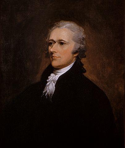 Portrait of Alexander Hamilton (Photo By John Trumbull - Washington University Law School, Public Domain)