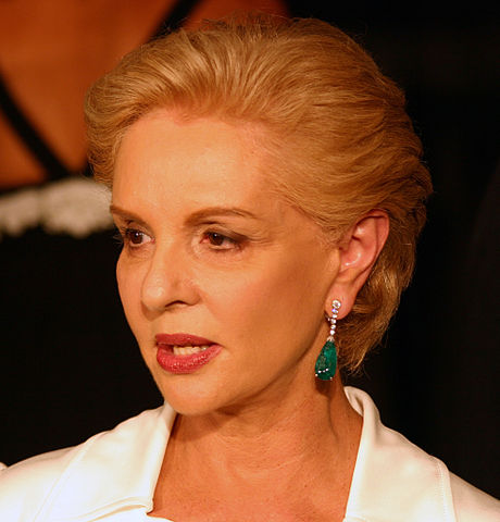 Designer Carolina Herrera is stepping down as creative director of her fashion label, and handing the reins to young American designer Wes Gordon. (Photo By Photo by Christopher Peterson, CC BY 3.0)