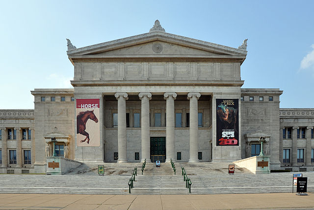 Field Museum of Natural History in Chicago, Illinois, USA. (Photo By Joe Ravi, CC BY-SA 3.0)