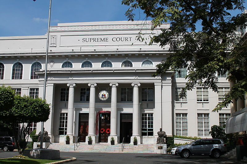 Facade of the Supreme Court Building (Photo By Aerous - Own work, CC BY-SA 3.0)