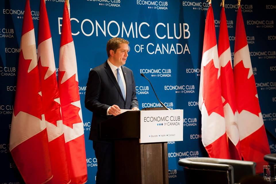 Federal Conservative Leader Andrew Scheer is pledging to upend the Liberal lock on Atlantic Canada, promising that winning back seats in the region will be a key part of his party's strategy to oust Prime Minister Justin Trudeau in the next federal election. (Photo: Andrew Scheer/Facebook)