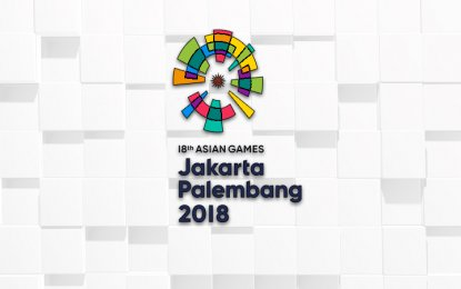 The Asian Games will be held from August 18 to September 2 in Indonesia's capital city, along with Palembang in South Sumatra province. The tournament will have a total of 462 events in 40 sports. (PNA photo)