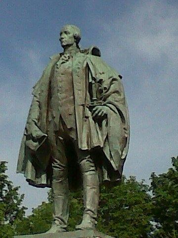 Edward Cornwallis Statue Halifax Nova Scotia (Photo By Hantsheroes - Own work, CC BY-SA 3.0)