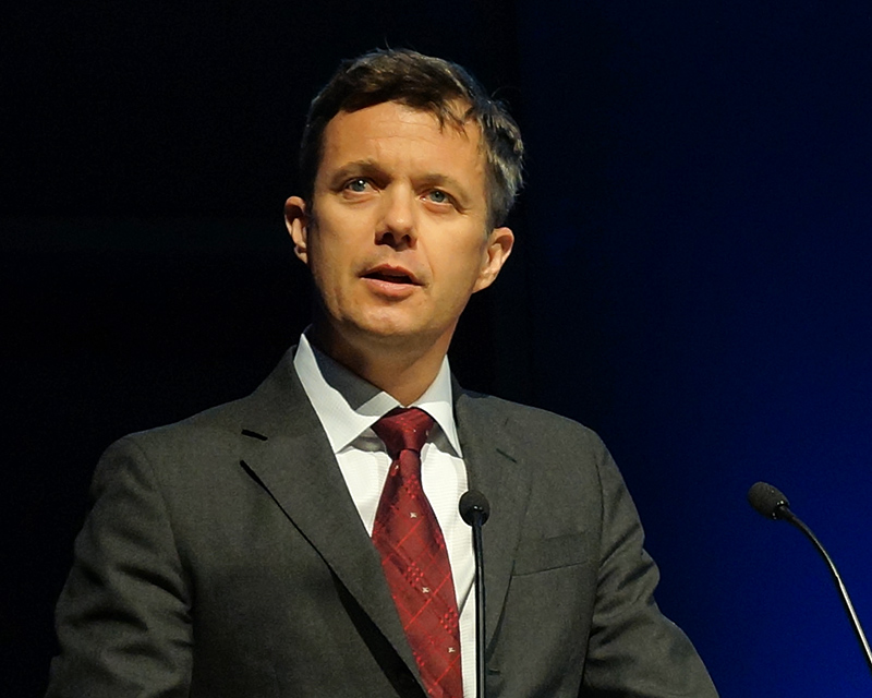 FILE: Frederik, Crown Prince of Denmark (Photo by Mogens Engelund - Own work, CC BY-SA 3.0)