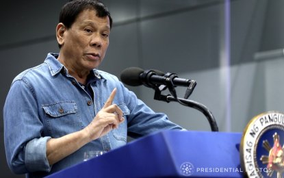 Duterte said he received another phone call from Tan last Monday informing him that PAL will provide another plane to repatriate more Filipinos from Kuwait. (PNA PHOTO)