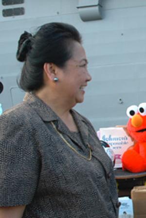 Dr. Esperanza Cabral, Secretary of Health (Photo By U.S. Embassy in Manila - http://manila.usembassy.gov/wwwhs073.html#nogo, Public Domain)