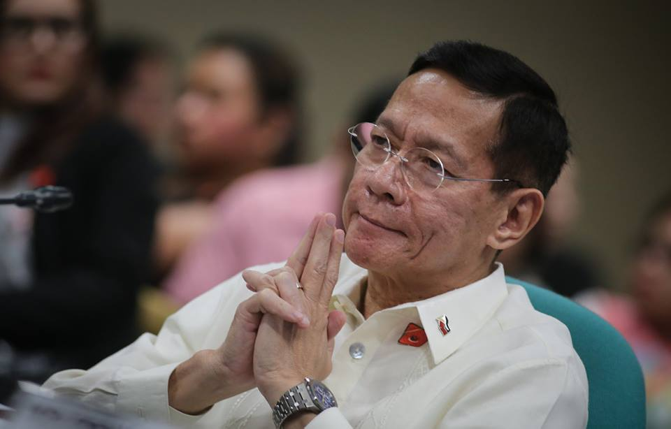 The ad interim appointment of Francisco Duque III as Department of Health (DOH) Secretary was confirmed by the Commission on Appointments (CA) on Wednesday. (Photo: Senate of the Philippines/Facebook)