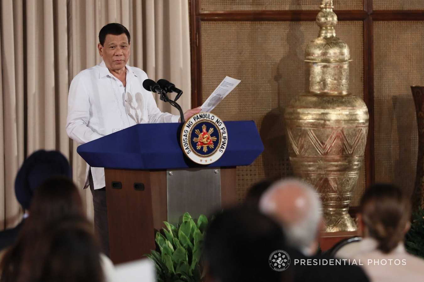 Duterte to reconsider peace talks with Reds