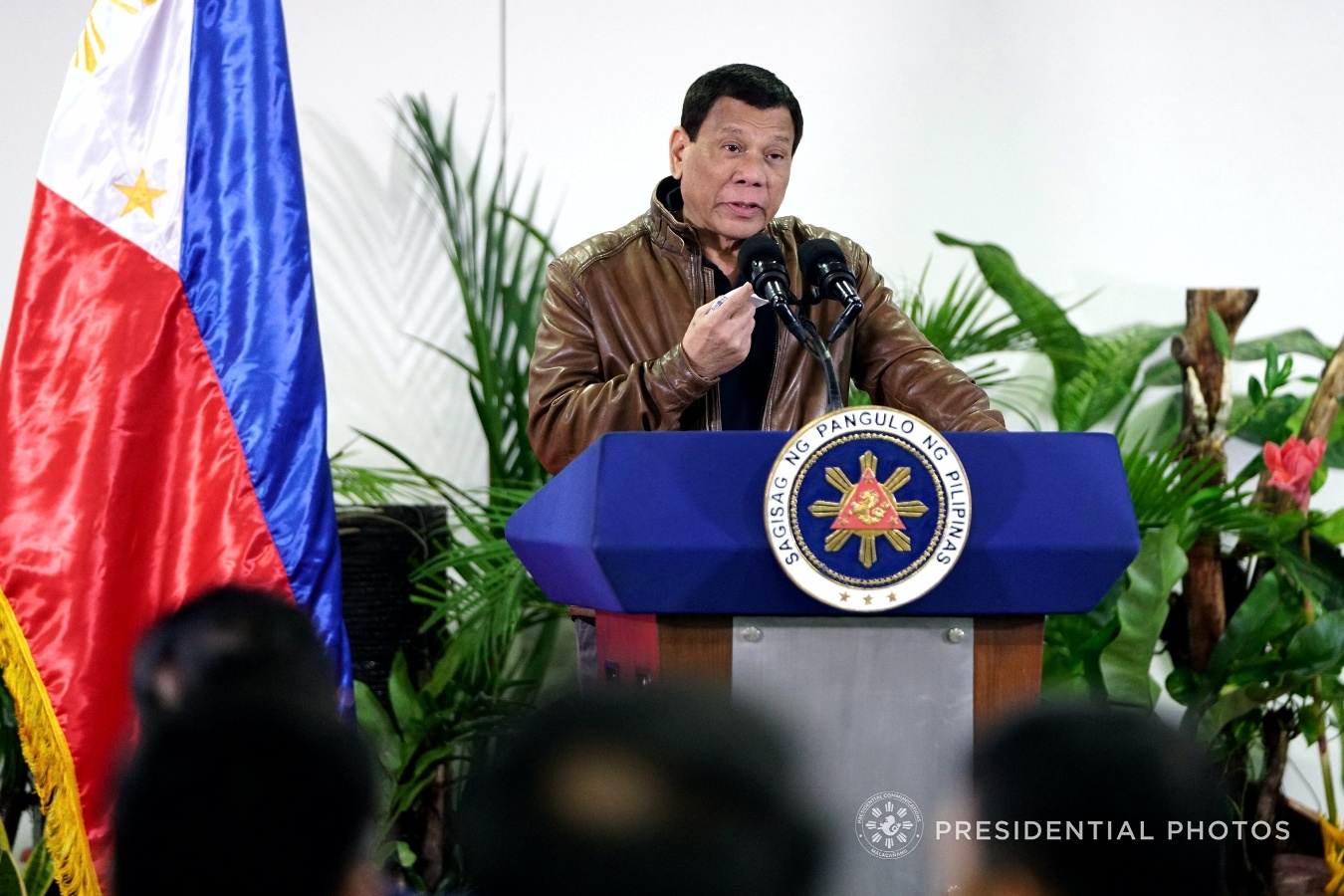 FILE: President Rodrigo Duterte (JOEY DALUMPINES/PRESIDENTIAL PHOTO)