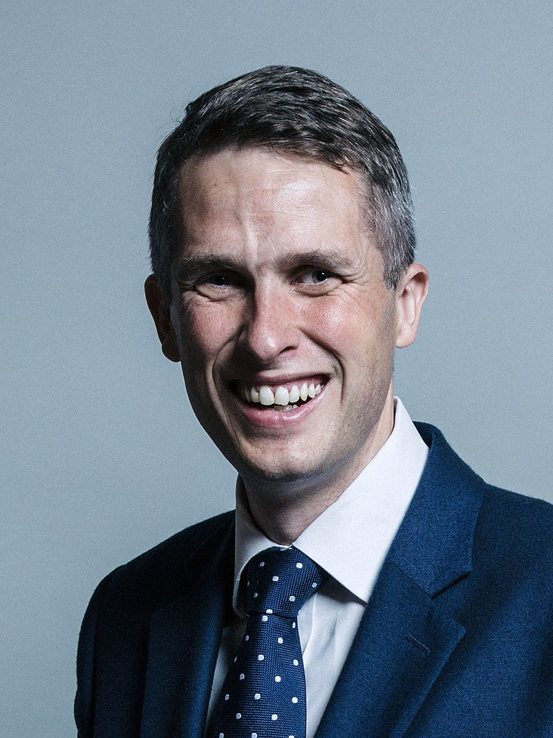 Gavin Williamson (Photo by Chris McAndrew - https://api20170418155059.azure-api.net/photo/HzKR1wXl.jpeg?crop=MCU_3:4&quality=80&download=trueGallery: https://beta.parliament.uk/media/HzKR1wXl, CC BY 3.0)