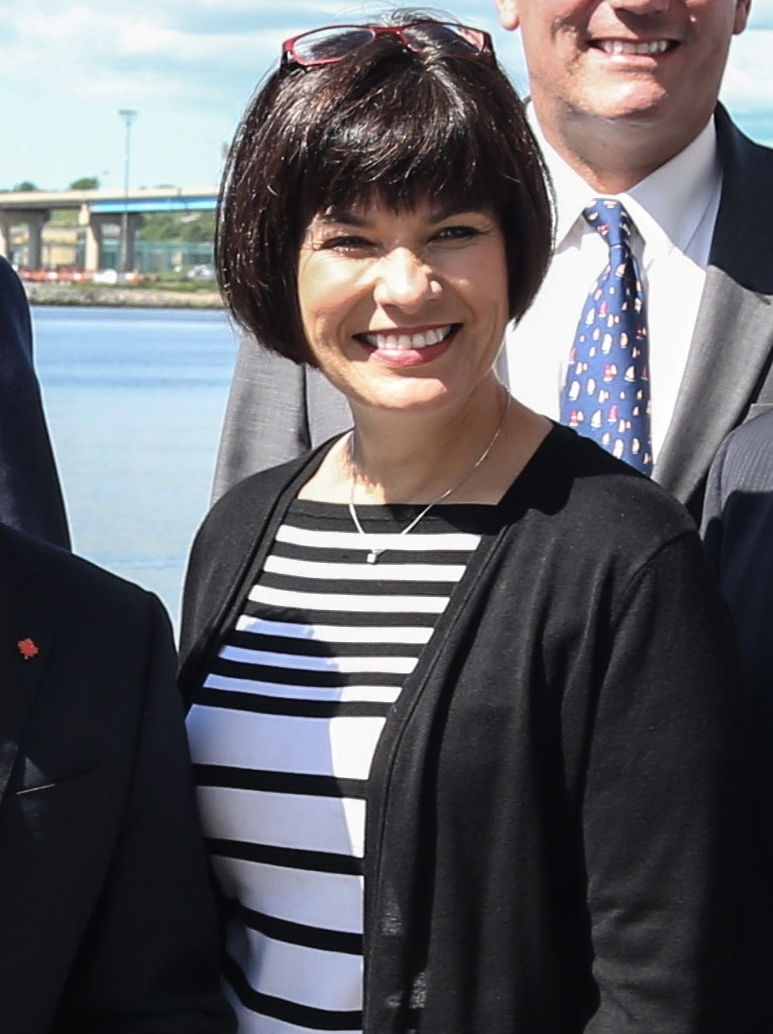 Ginette Petitpas Taylor in 2017 (Photo By Government of New Brunswick - https://www.flickr.com/photos/gnbca/34873511164/, CC0)
