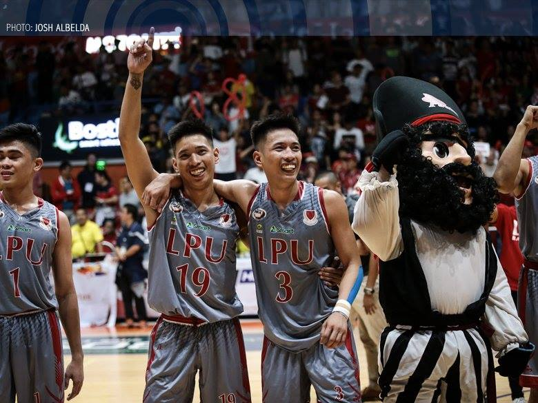 A rematch of last year's NCAA Finals just ensued in the PCCL Final as Lyceum and San Beda scored contrasting wins in the national semifinals at the FilOil Flying V Centre in San Juan City on Monday night. (Photo: Lyceum of the Philippines University Manila/Facebook)