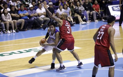 The Barangay outscored the KaTropa, 30-16, in the fourth quarter to pull away for good from a tight match. (PNA Photo)