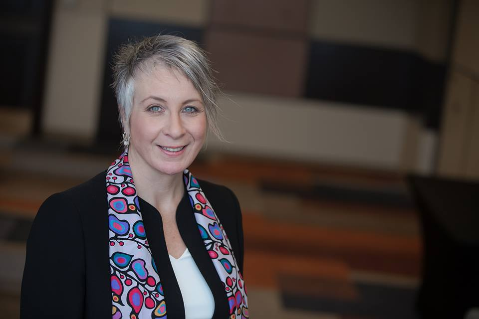 """""""We know that those boundaries are very blurry and especially in workplaces like ours,"""" Labour Minister Patty Hajdu said Monday. (Photo: Patty Hajdu/Facebook)"""