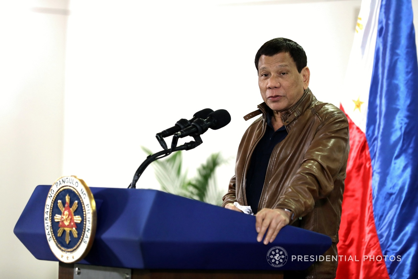 "A youth party-list hit back at President Rodrigo Duterte for his threat to kick out students of University of the Philippines (UP) who keep on skipping classes to join protests, saying that the administration could still expect ""more walkouts"" to condemn the President's ""dictatorship."" (SIMEON CELI JR./PRESIDENTIAL PHOTO)"