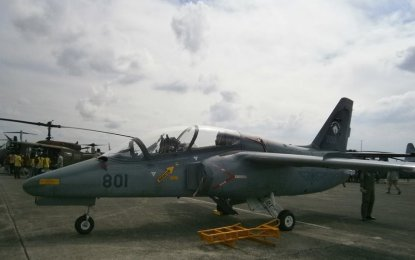 """The S-211 is one of the PAF's two jet-powered aircraft after the Korea Aerospace Industries FA-50PH """"Fighting Eagle"""". (PNA Photo)"""