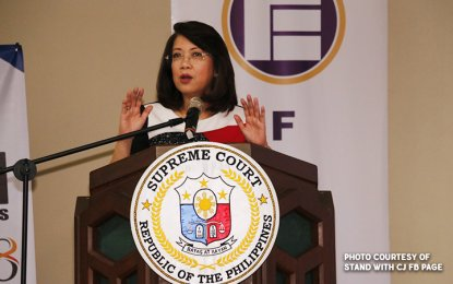 Palace urges Sereno to reflect on her legacy