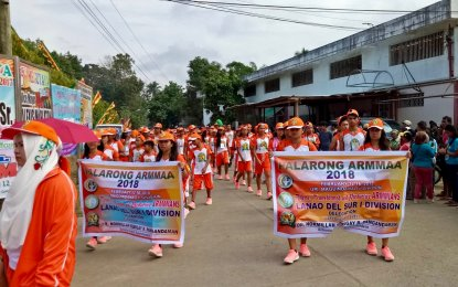 Some 5,000 student-athletes, education and technical officials gathered here for the conduct of the week-long Palarong ARMMAA (Autonomous Region in Muslim Mindanao Athletic Association) 2018, which opened Monday. (PNA photo)