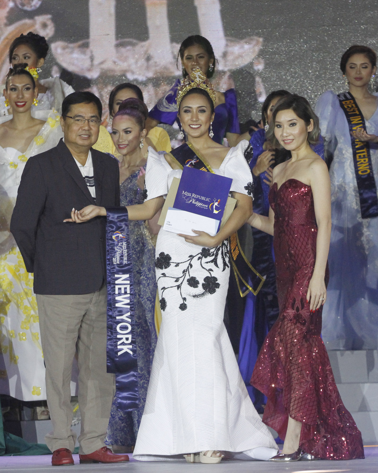 TALENT AND ADVOCACY. Miss Philippines America Excelsa De Jesus, representing New York City, bags the Ms. Republic of the Philippines-International 2018 title during the coronation night at the Sofitel Hotel in Pasay City early Thursday morning (Jan. 31, 2018). For the past two years, De Jesus has been conducting fundraising activities to help empower the sick and needy Filipino youths. The pageant, which was revived in 2015, aims to promote local tourism. (PNA photo by Avito Dalan)