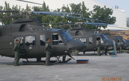 There are more than enough suppliers to provide the Philippine requirement for combat utility helicopters (CUHs) should the country's contract with Bell Helicopter and Canadian Commercial Corp. (CCC) fall through. (PNA photo)