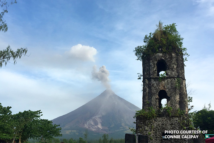 Mayon volcano alert level 'may be lowered soon'