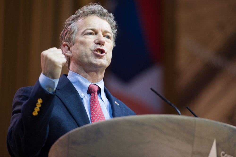 Kentucky Sen. Rand Paul put the brakes on Senate leaders' plan to drive the agreement quickly through the Senate, repeatedly blocking a Thursday vote and provoking colleagues' frustration. (Shutterstock)