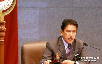Senate Majority Leader Tito Sotto (PNA Photo)