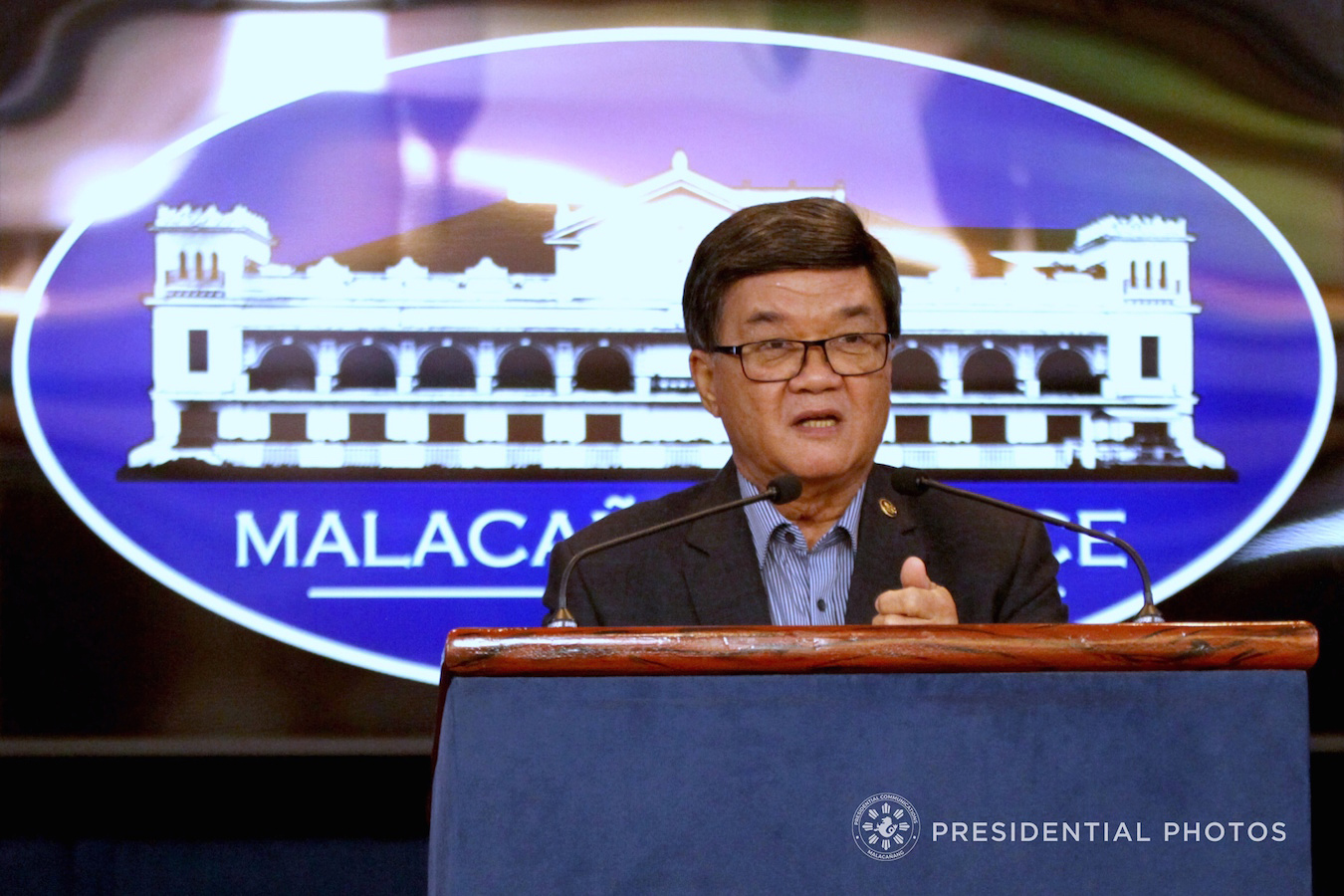 Aguirre stays as Justice chief for now