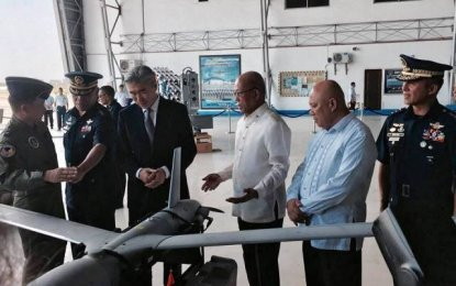 Philippines receives 6 drones from USA for surveillance
