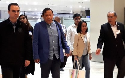 Philippine ambassador expelled by Kuwait returns home