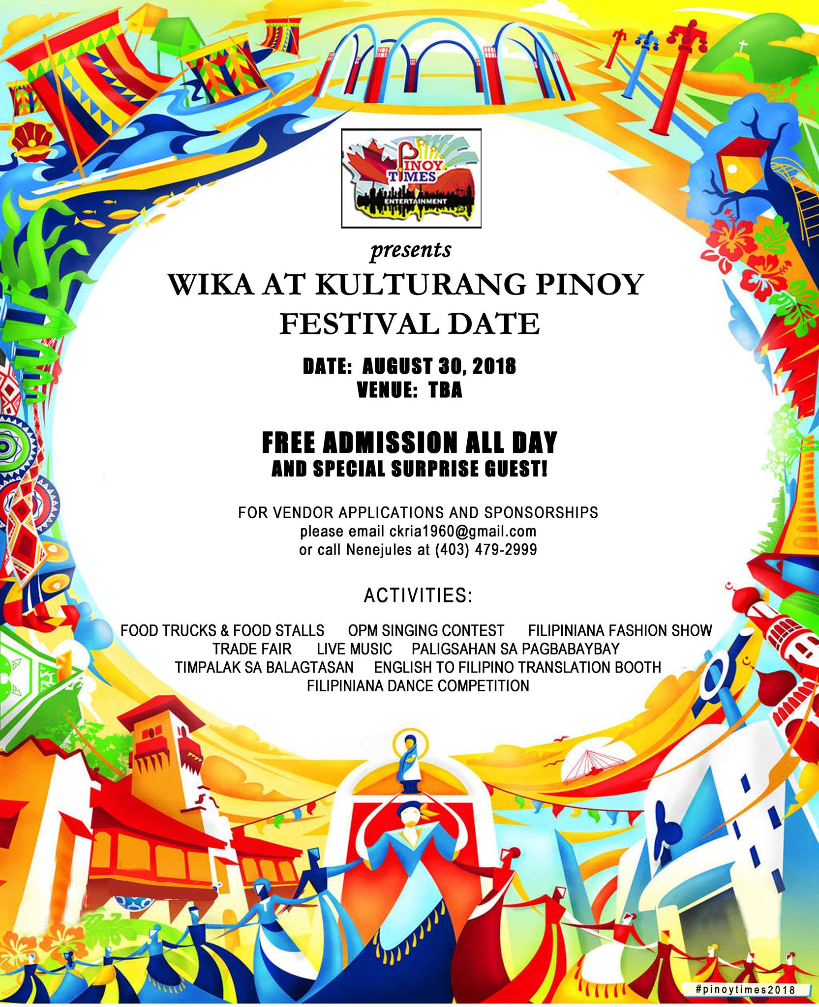 Wika at Kulturang Pinoy Festival | Philippine Canadian Inquirer