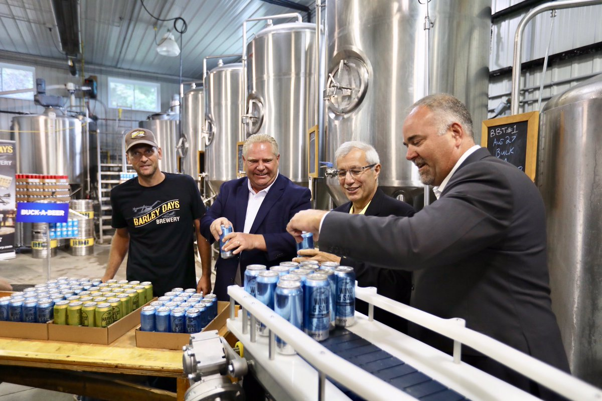 'Buck-a-beer' coming to Ontario in time for Labour Day