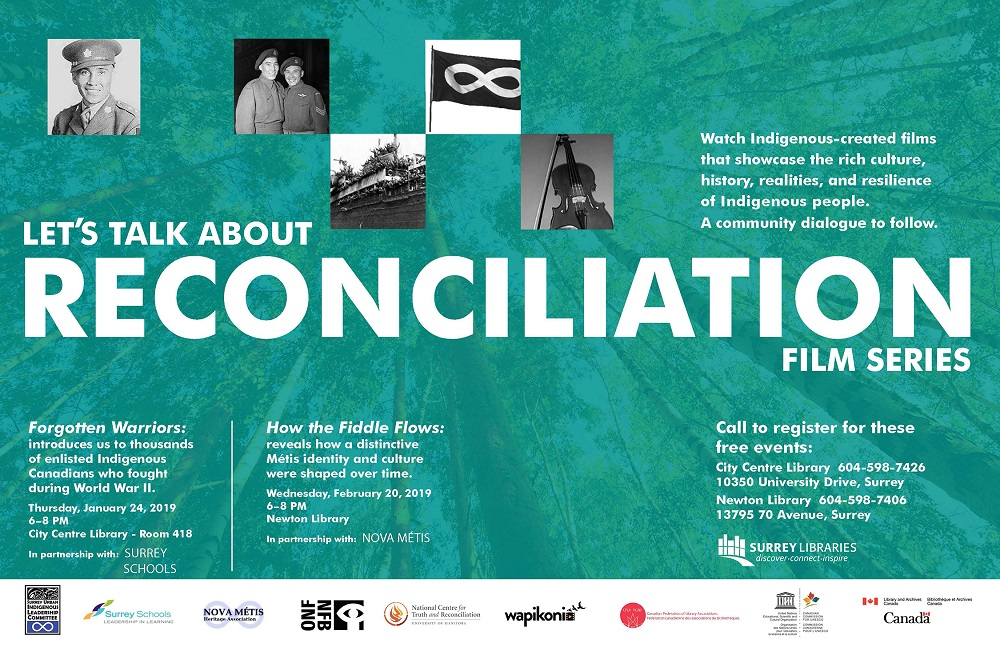 Let's Talk about Reconciliation – Indigenous Film Series at Surrey