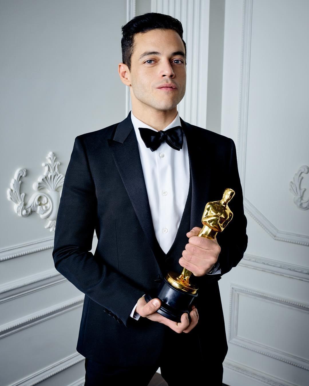 Rami Malek wins best actor Oscar for 'Bohemian Rhapsody'   Philippine  Canadian Inquirer