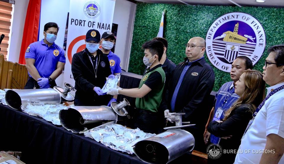P90-million worth of shabu found in car mufflers — BOC | Philippine