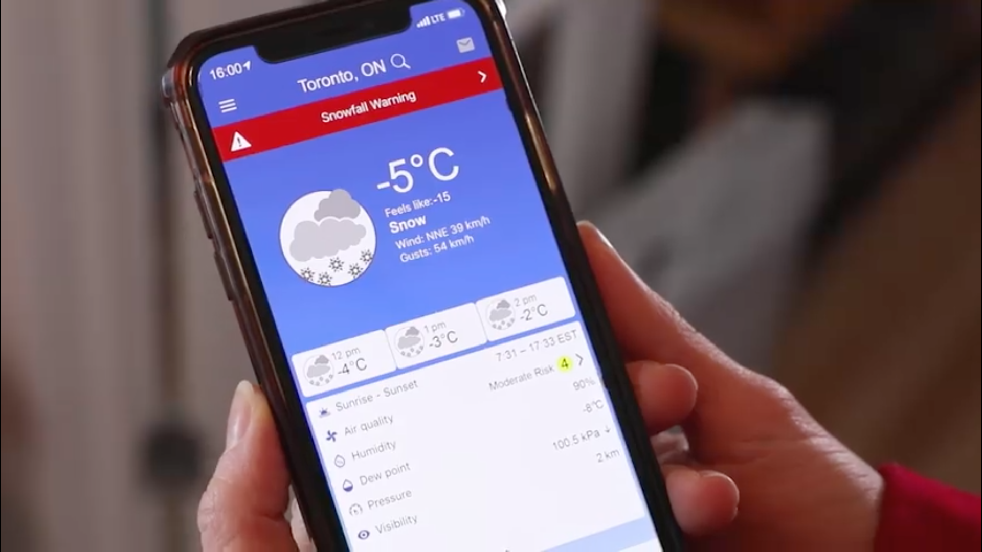 There wasn't an app for that? Environment Canada launches