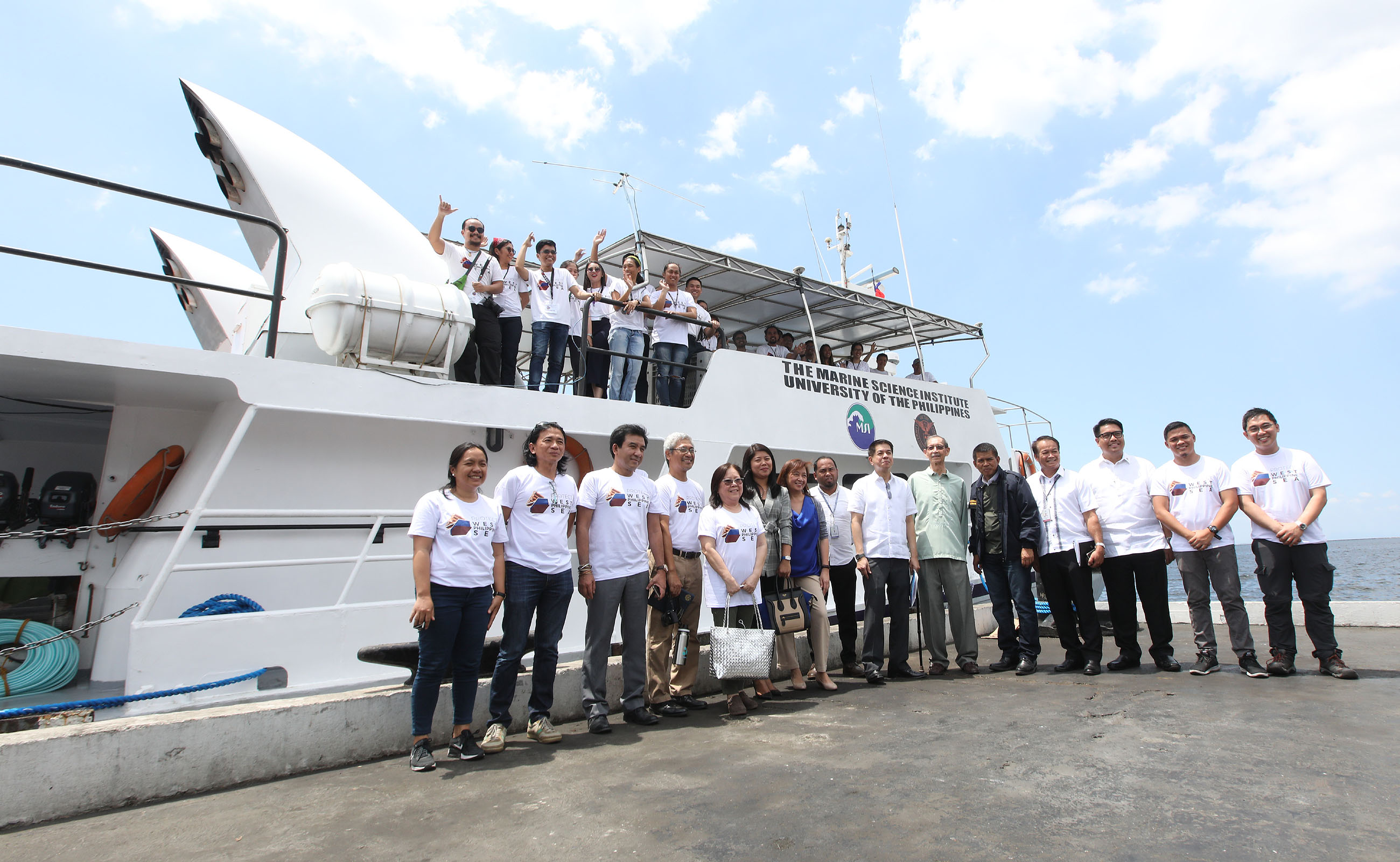 Scientists Find New Vessel For >> Filipino Scientists Sail To Find Out Food Importance Of Spratlys