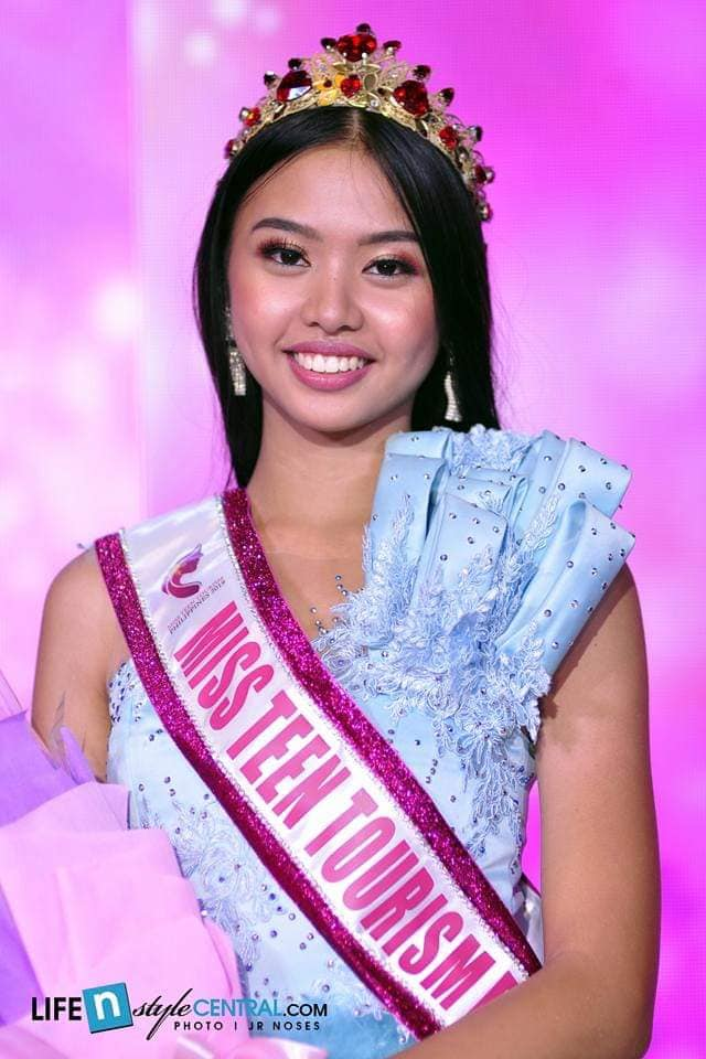 15-year-old PMAP model crowned Miss Teen Tourism PH 2019