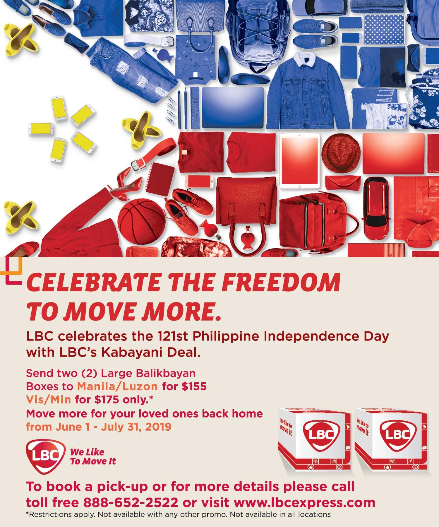 WESTERN CANADA – LBC Celebrates the 121st Philippine