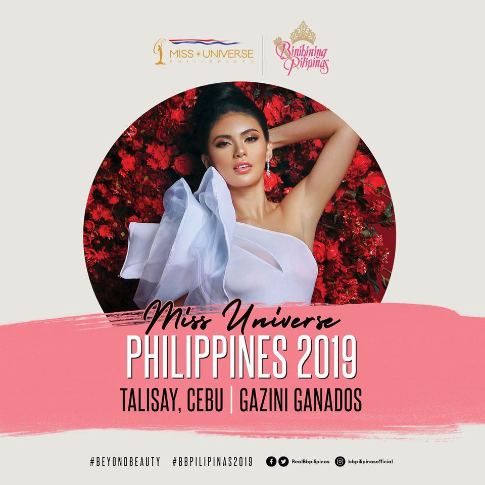 Gazini Ganados is Miss Universe Philippines 2019
