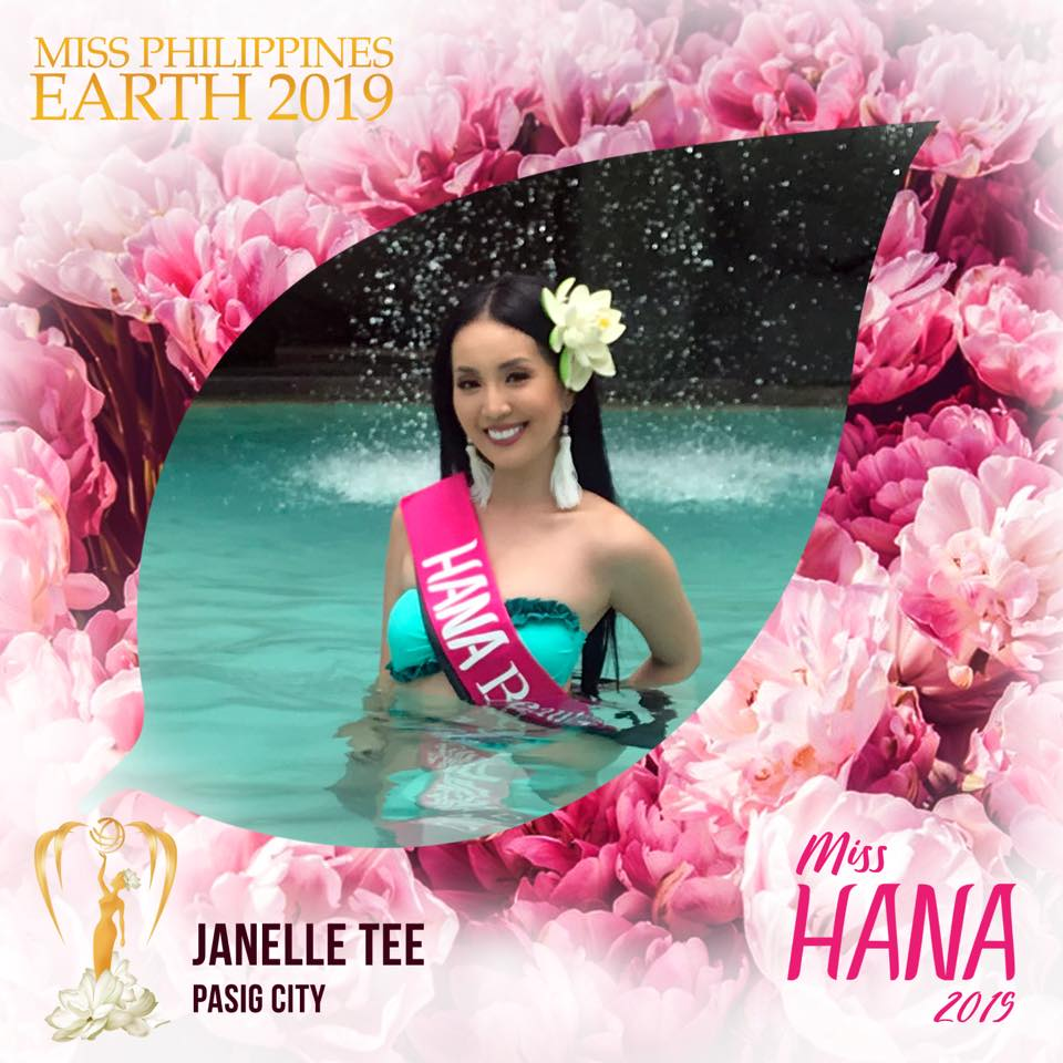 Miss Earth Philippines 2019 is Janelle Tee of Pasig