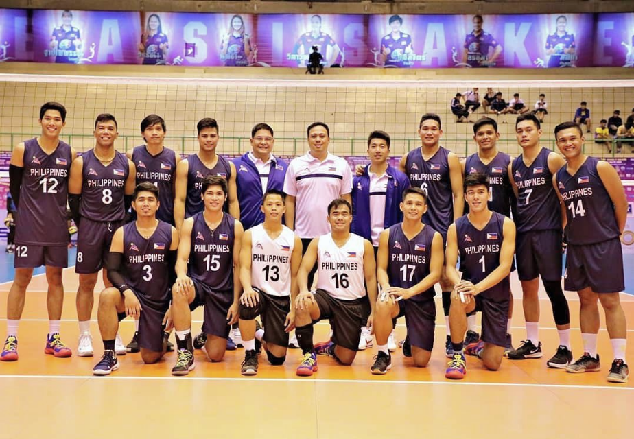 PH national men's volley team finishes bronze in Thailand Open