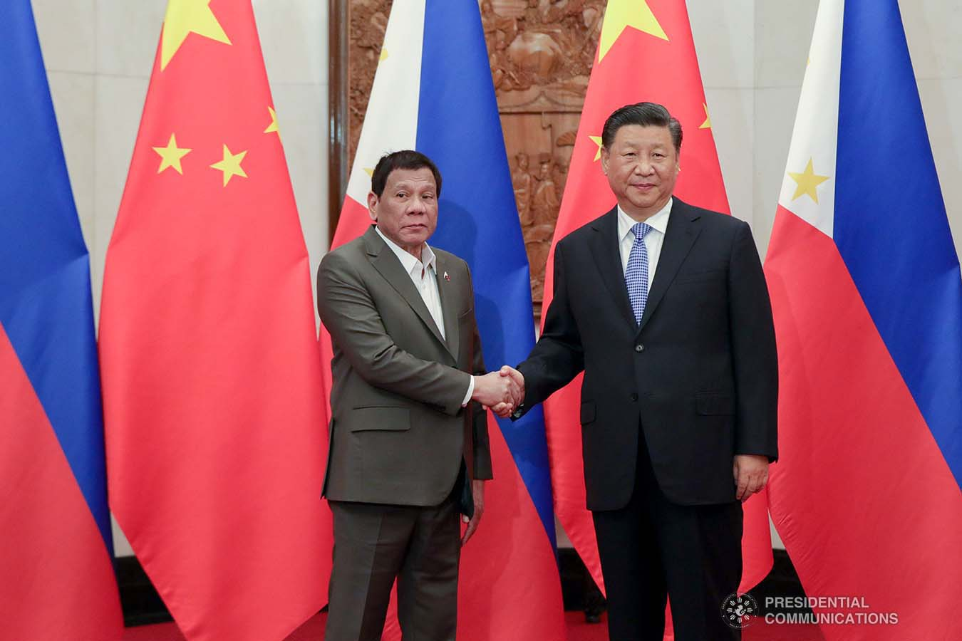 Beijing to Duterte: South China Sea position not up for talks