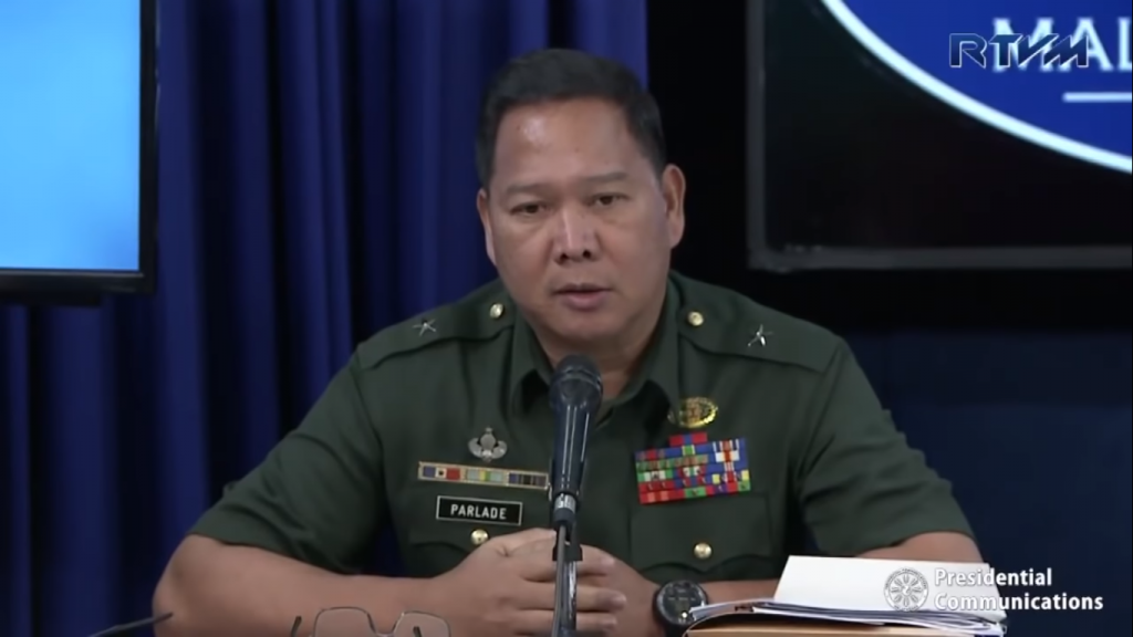 Red groups, allies playing pity card when cornered: Parlade - Philippine Canadian Inquirer